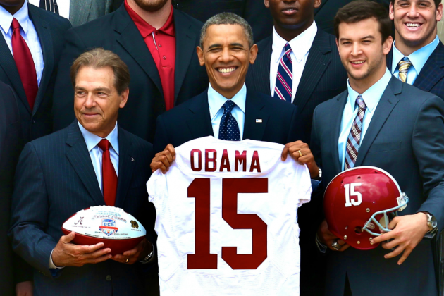 ESPN's 'College GameDay' May Feature President Barack Obama and Tiger Woods