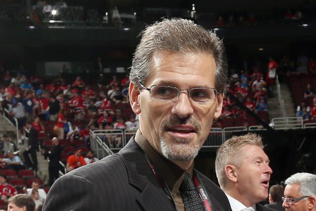 Flyers Name Ron Hextall to Executive Positions