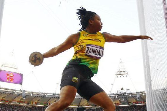 Jamaica Thrower Randall Has Positive Test