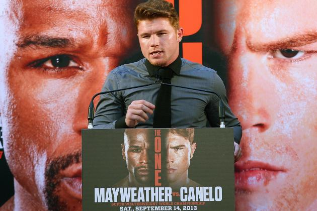 Will Canelo Upset Mayweather Like Sanchez Upset Gomez?