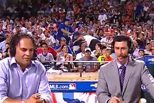 2013 Home Run Derby Video: Watch Fight Break Out During Mike Piazza Interview