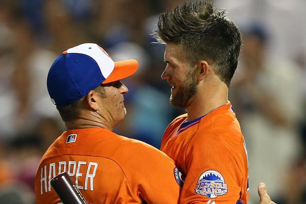 Bryce Harper Loses Derby Final to Cespedes