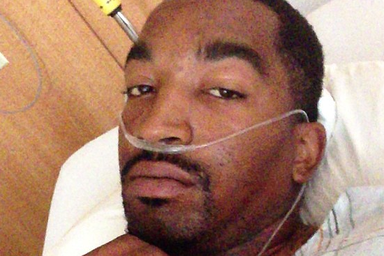 J.R. Instagrams Pic from Hospital Bed