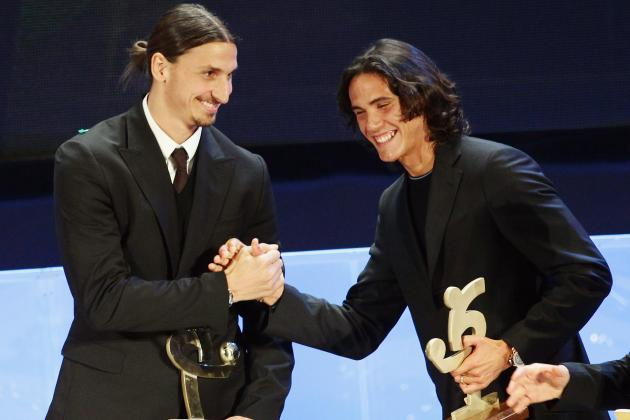 Zlatan Ibrahimovic and Edinson Cavani: Europe's Top Strike Duo in the Making?