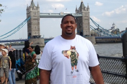 Foster in London to Promote Game