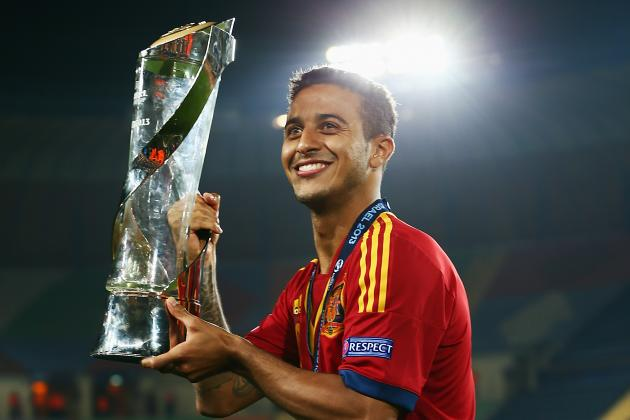 Thiago Alcantara Faces Tough Battle to Make World Cup 2014