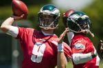 Report: Foles Outplayed Vick in Minicamp, OTAs