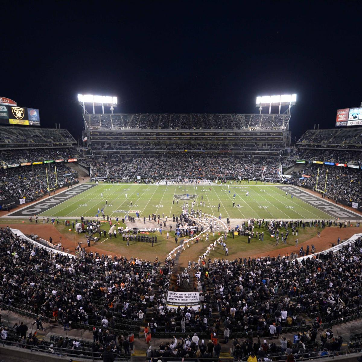 Raiders New Stadium: Oakland Raiders Reportedly Interested In $800 Million