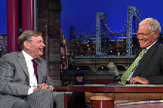 Bud Selig Talks A-Rod Suspension on Letterman