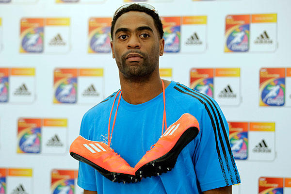 Tyson Gay's Front-Page News Keeps Track and Field on Back Page