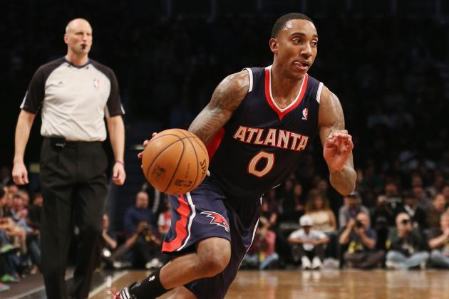 Teague Happy to Be Back with Hawks