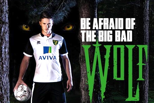 Norwich City Launch 2013-14 Away Kit Featuring New Signing Ricky Van Wolfswinkel