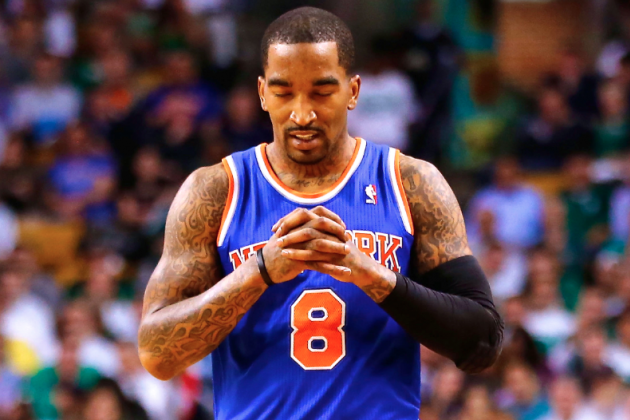 Does J.R. Smith's Knee Injury Prove NY Knicks Re-Signing Him Was a Mistake?
