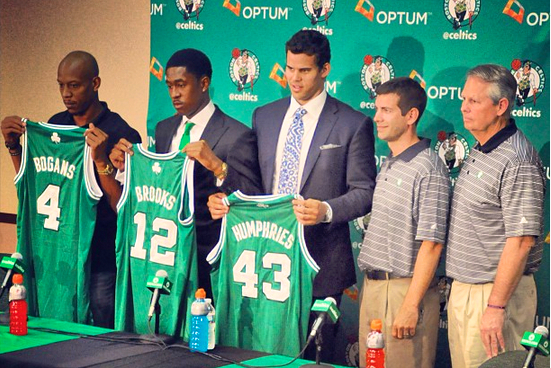 The Boston Celtics Introduced the 'Sad Three' with Saddest Photo of All Time