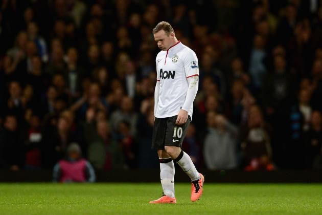 Manchester United Transfer Rumours: Wayne Rooney Reportedly Unhappy at United