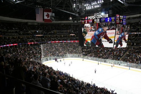 Pepsi Center Gets New JumboTron for Avalanche