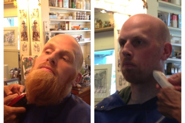 Chris Kaman Ditches Massive Beard Before Starting LA Lakers Career