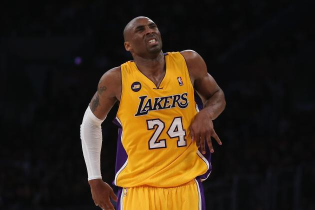 Kobe Bryant Reportedly Ahead of Rehab Schedule, but Not Actually by 3 Months