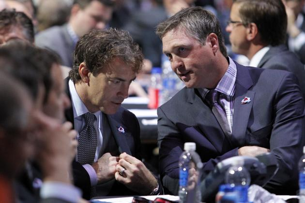 Sakic, Roy Shift Avs from Cutting Costs to Building Blocks