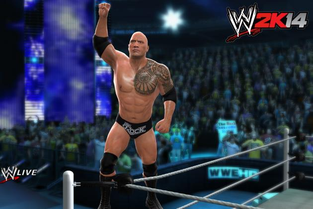 WWE 2K14: New Screenshots of The Rock, Dolph Ziggler, Macho Man and More