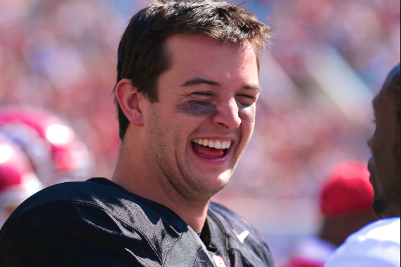 AJ McCarron Helps Prank Sleeping QB on Carpool Home from Manning Passing Academy