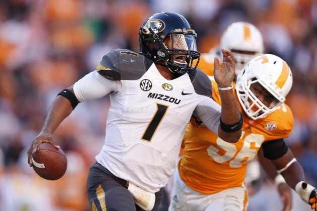 Pinkel Says Franklin Enters Fall Camp as Mizzou's No. 1 QB
