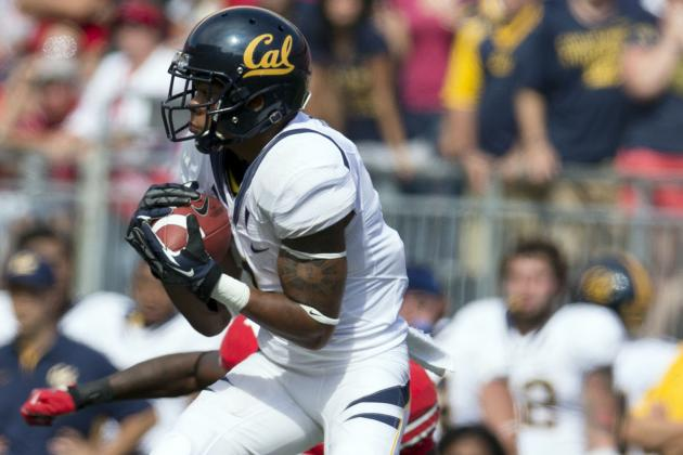 Cal Football Fall Camp Preview:  the Wide Receivers