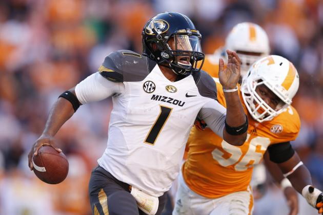 Missouri QB James Franklin Says Mizzou Fans Are Rudest in SEC