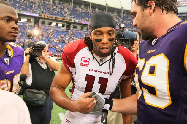 Larry Fitzgerald Confessed to Being a Vikings Fan