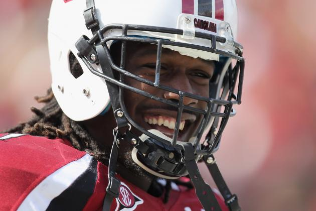 SEC Media Days 2013: Jadeveon Clowney Thinks He Can Get Johnny Manziel