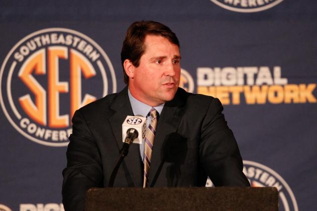 SEC Media Days 2013: Day 1 Takeaways and Interview Highlights