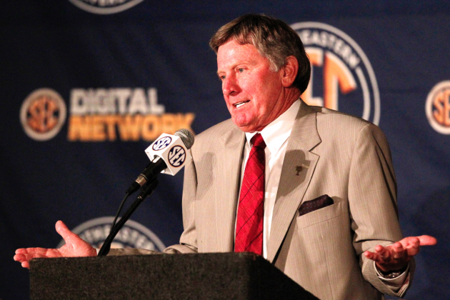 SEC Media Days 2013: Quotes and Highlights of Steve Spurrier's Wild Presser