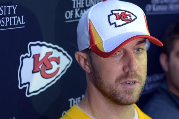 Alex Smith Settled In, Ready to Lead Chiefs