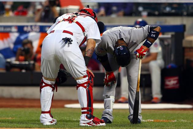 Robinson Cano Hit by Pitch, Leaves All-Star Game