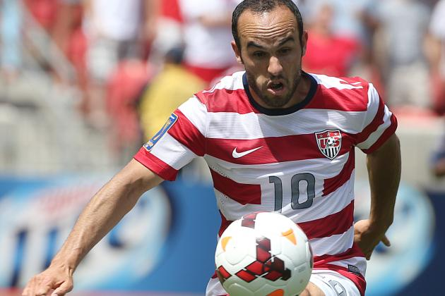 USMNT to Face El Salvador in Gold Cup Quarterfinals