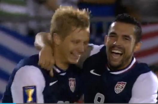 Video: Shea Scores off Beautiful Pass from Donovan