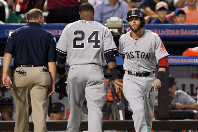 Quiet Nights for Ortiz, Pedroia at All-Star Game