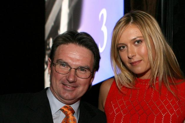 Maria Sharapova Looks for WTA No. 1 Ranking with Coach Jimmy Connors