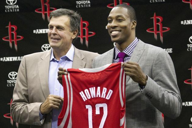Houston Rockets' Options for Power Forward Alongside Dwight Howard Next Season