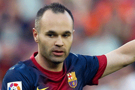 Iniesta Statue to Be Unveiled in Hometown