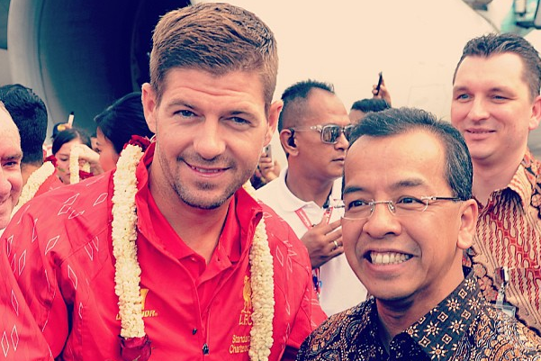 Instagram: LFC Touch Down in Jakarta