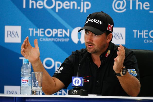 British Open Favourites 2013: Power Ranking Open Championship's Top Contenders