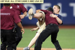 Mom Angry as Guy Invades ASG Field