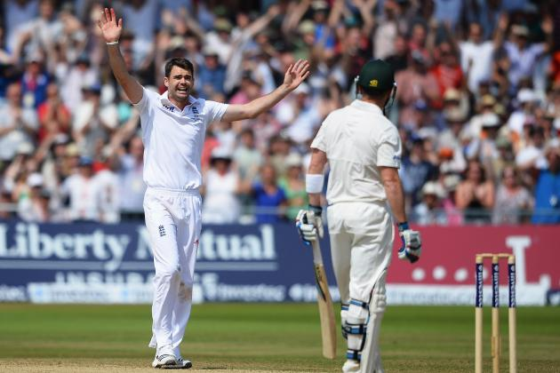 The Ashes 2013 Scorecard: Battle of the Bowlers Will Define This Year's Series