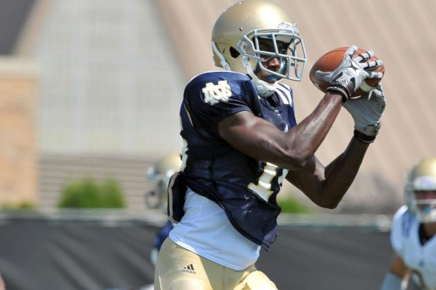 Irish WRs Considered Among Tops in Nation