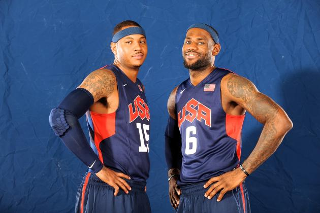 LA Lakers Reportedly Eyeing LeBron James and Carmelo Anthony for 2014 Offseason
