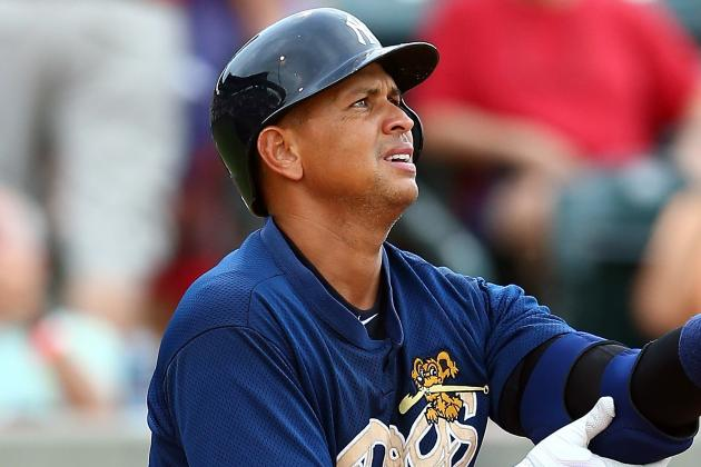 Report: A-Rod Headed to Scranton