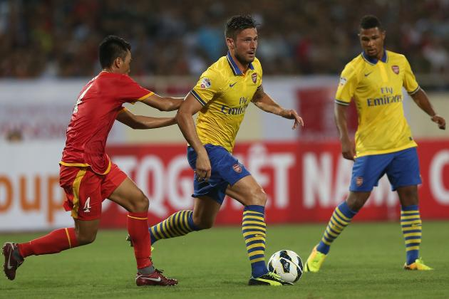 Vietnam 1-7 Arsenal: Winners and Losers from My Dinh National Stadium