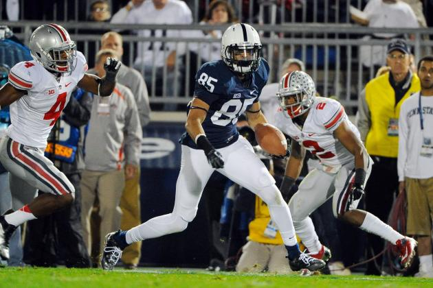 Penn State's Stan Hixon Happy with Wide Receivers' Progress