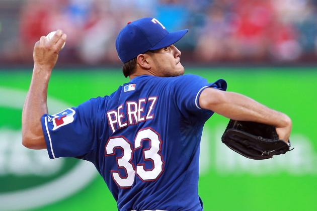 Report: TEX Not Willing to Trade Perez in Garza Deal
